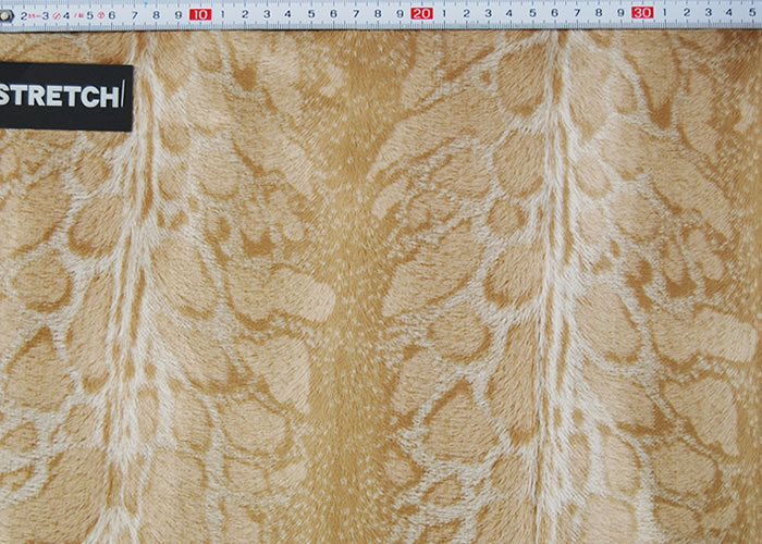 Animal Print and Rayon Fashion Fur:item numberNT068