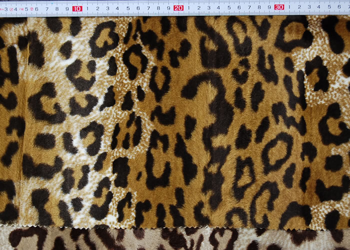 Animal Print and Rayon Fashion Fur:item numberNT710