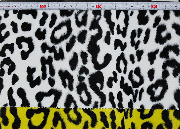 Animal Print and Rayon Fashion Fur:item numberNT711