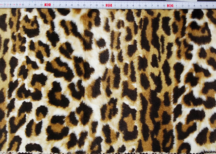 Animal Print and Rayon Fashion Fur:item numberNT712