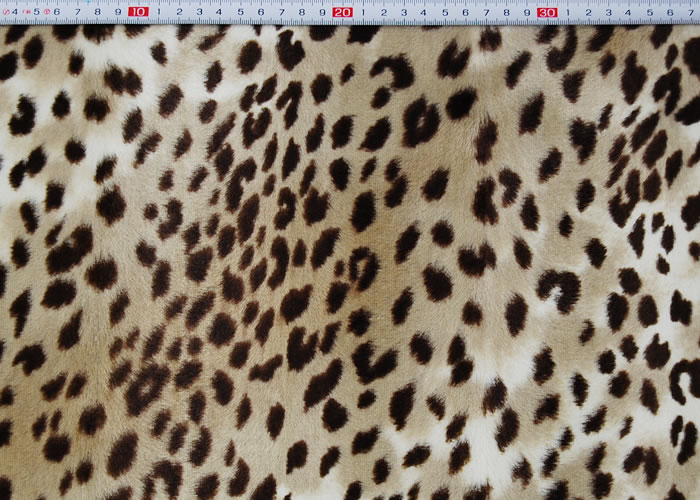 Animal Print and Rayon Fashion Fur:item numberNT718