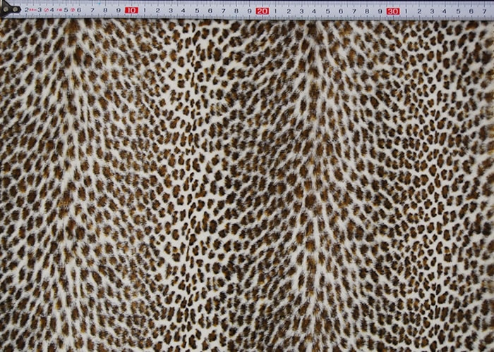 Animal Print and Rayon Fashion Fur:item numberNT720