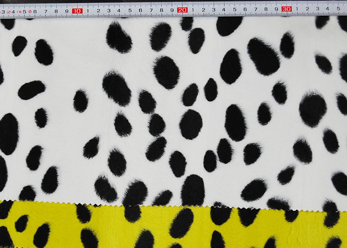 Animal Print and Rayon Fashion Fur:item numberNT726