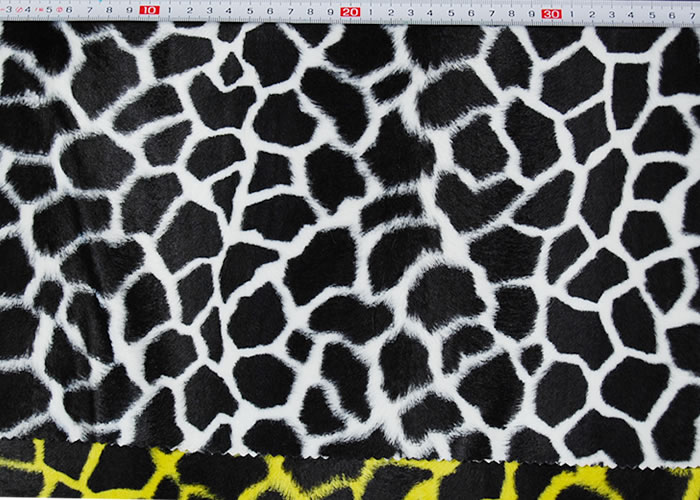 Animal Print and Rayon Fashion Fur:item numberNT727