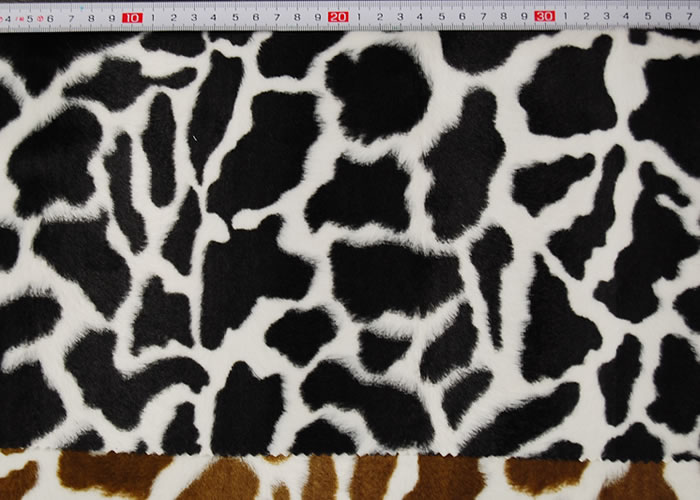 Animal Print and Rayon Fashion Fur:item numberNT728