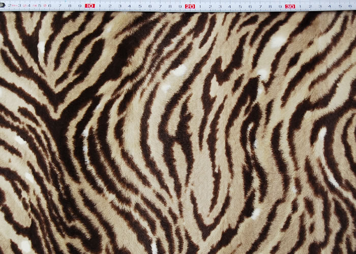 Animal Print and Rayon Fashion Fur:item numberNT732