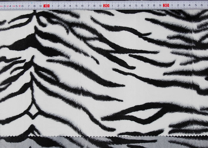 Animal Print and Rayon Fashion Fur:item numberNT733