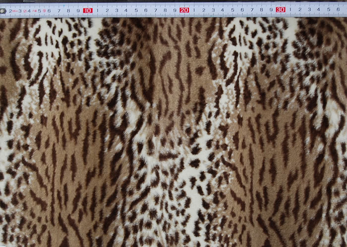 Animal Print and Rayon Fashion Fur:item numberNT735
