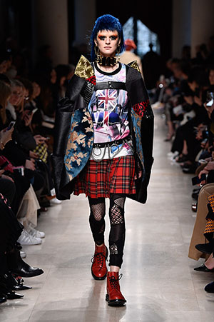 JUNYA WATANABE COMME des GARÇONS 2017AWで使用された生地(金華山)